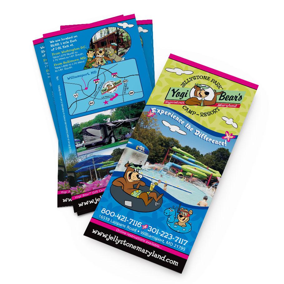 jelly stone park rack card - Rack Cards