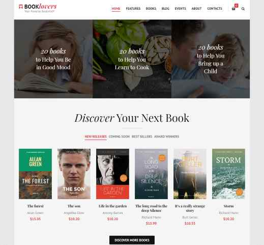Booklovers a book reading and publishing theme
