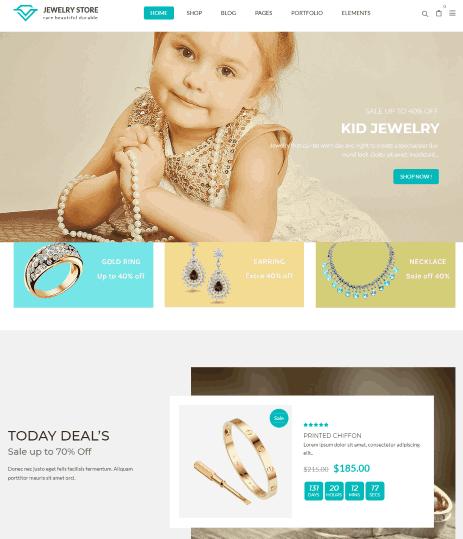 Karo a Kids Jewellery shop builder