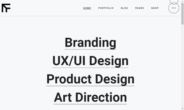 TheFutur a Creative Portfolio & Agency Theme