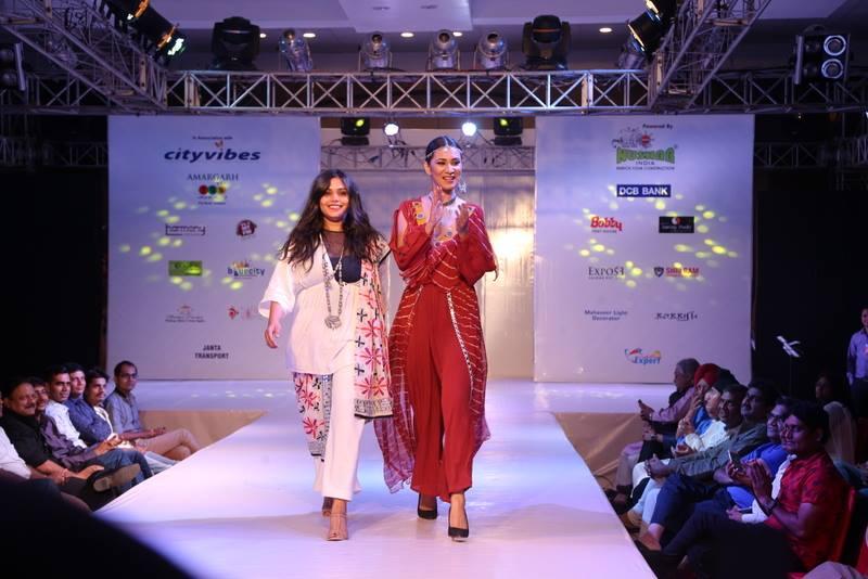 INIFD Jodhpur Fashion Show