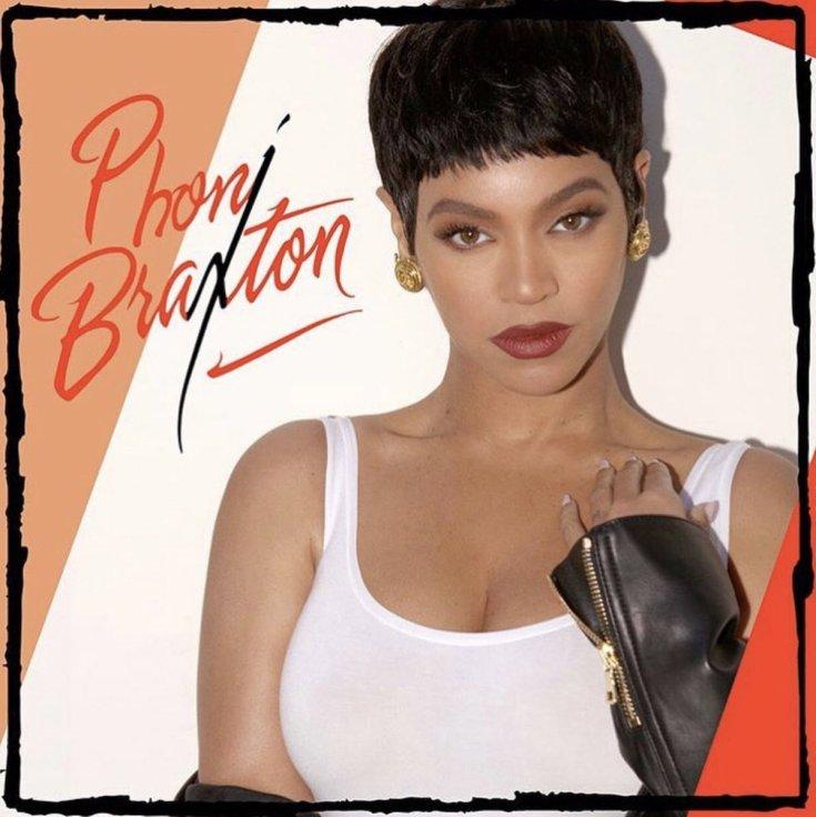 Beyoncé Dresses Up as Toni Braxton For Halloween - See PHONI BRAXTON Here! image