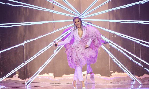 Watch CARDI B Perform at Paris Fashion Week image