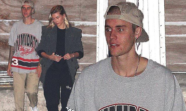 Justin Bieber and Hailey Baldwin Visit a CHURCH On Halloween! image