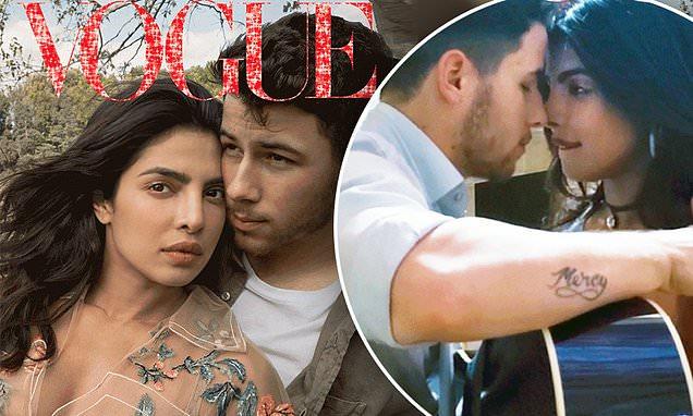 Priyanka Chopra and Nick Jonas Cover VOGUE Digital! image