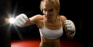 "WMMA Fighter Julie ""Fireball"" Kedzie: Feb 17, 2012 Albuquerque, NM"
