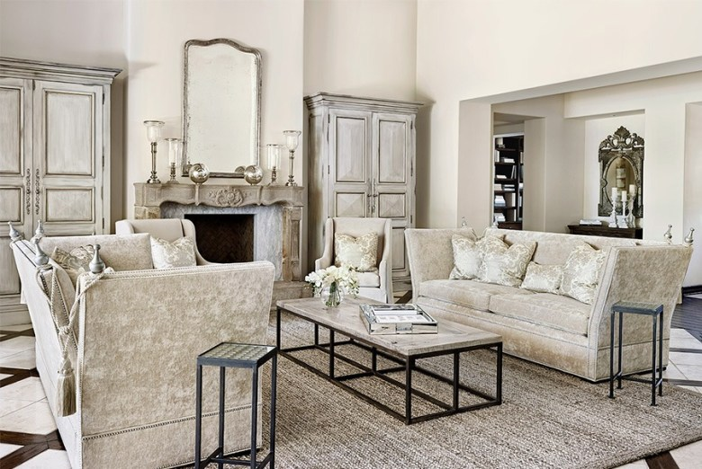 Peter Thomas Designs - White Living Room Coffee Table