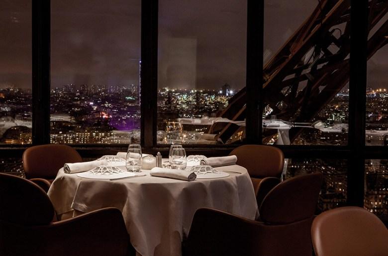 Le Jules Verne, Paris, France fine dining
