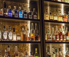 Seven Grand Whisky Bar Austin mint julep