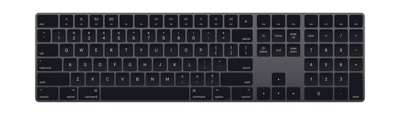 Apple Magic Keyboard in Space Gray