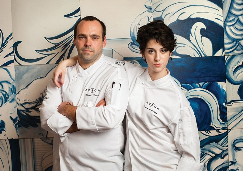 Adega Chefs, Jessica Carreira and David Costa