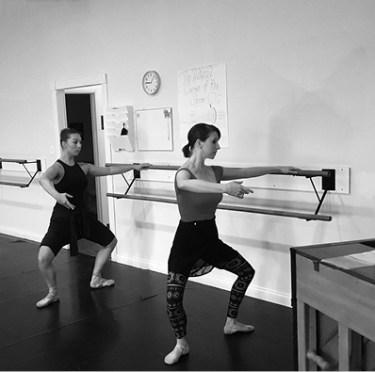 Jennifer Cafarella Ballet Theatre of Phoenix - at practice