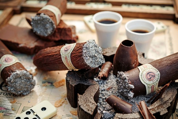 Barton Cubanito Chocolate Cigar multi-sensory dining