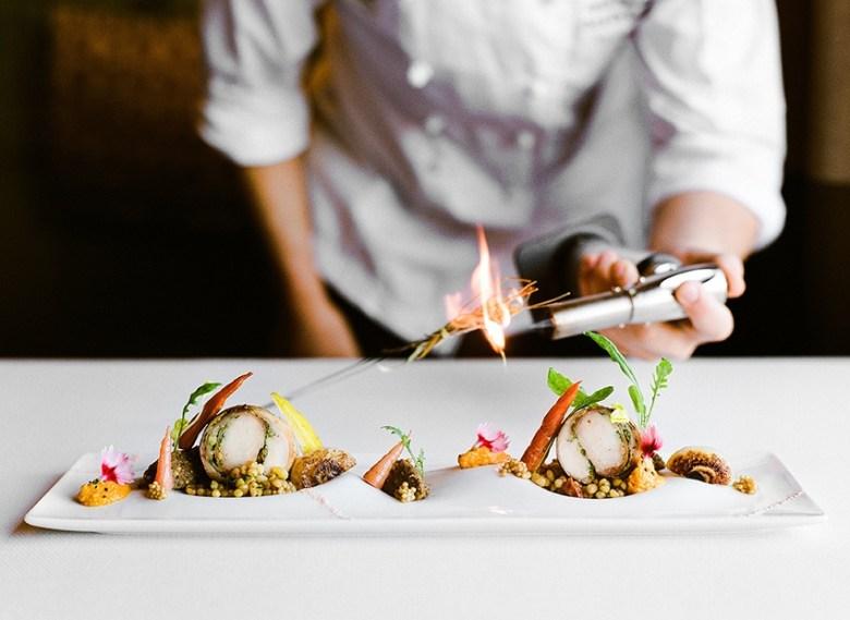 Kai restaurant Phoenix AZ plate