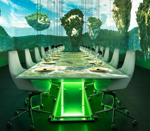 Sublimotion Multi-Sensory Restaurants