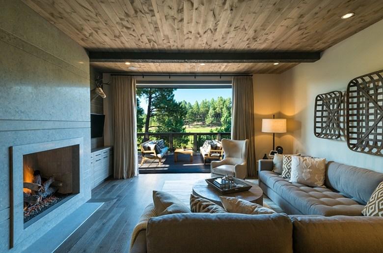 Club Cabin Living Room Pine Canyon Flagstaff