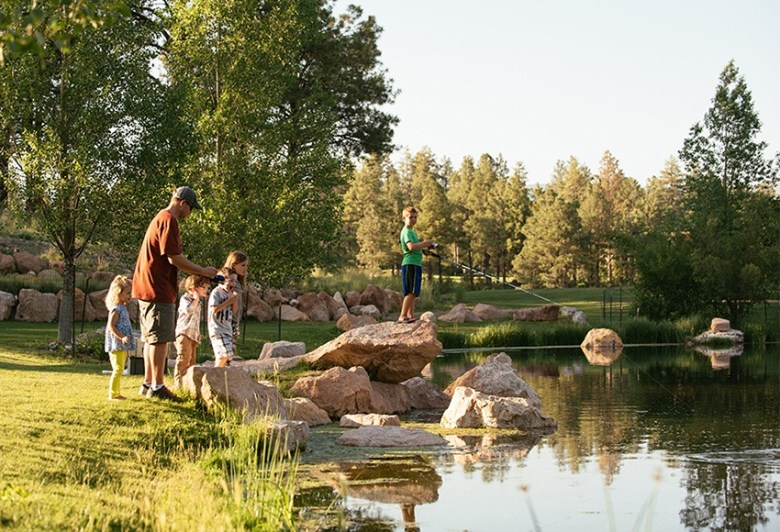 Family activities at Pine Canyon in Flagstaff AZ