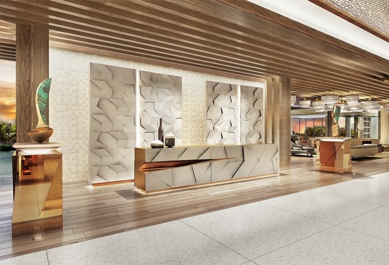 Hotel lobby by The Ritz-Carlton Paradise Valley