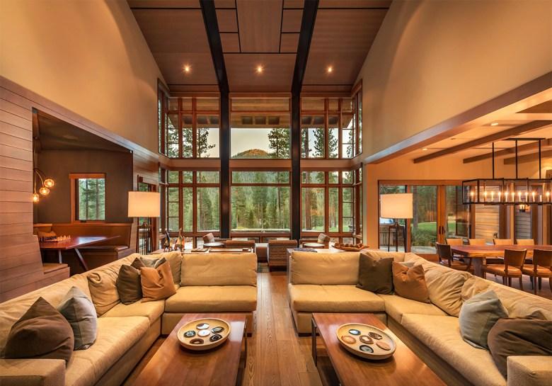 Martis Camp Living Room home design