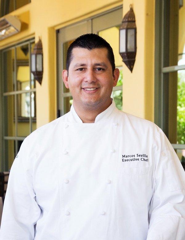 Executive Chef Marcos Seville. Prado at Montelucia Resort & Spa