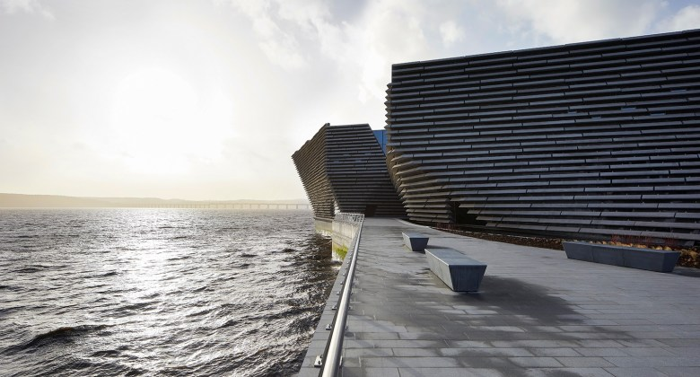 Dundee V&A Museum of Design in Scotland