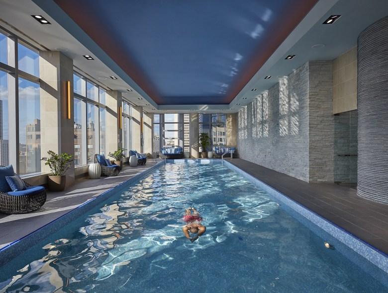 Mandarin Oriental Spa, NYC - Indoor Lap Pool