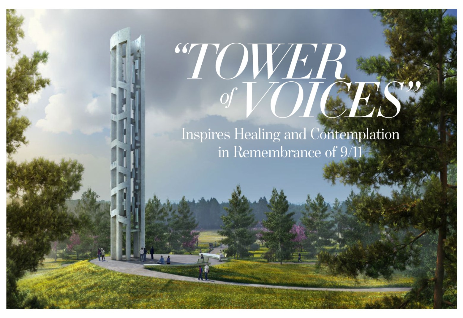 "911 Tower Of Voices - ""Tower of Voices"" Shanksville PA"
