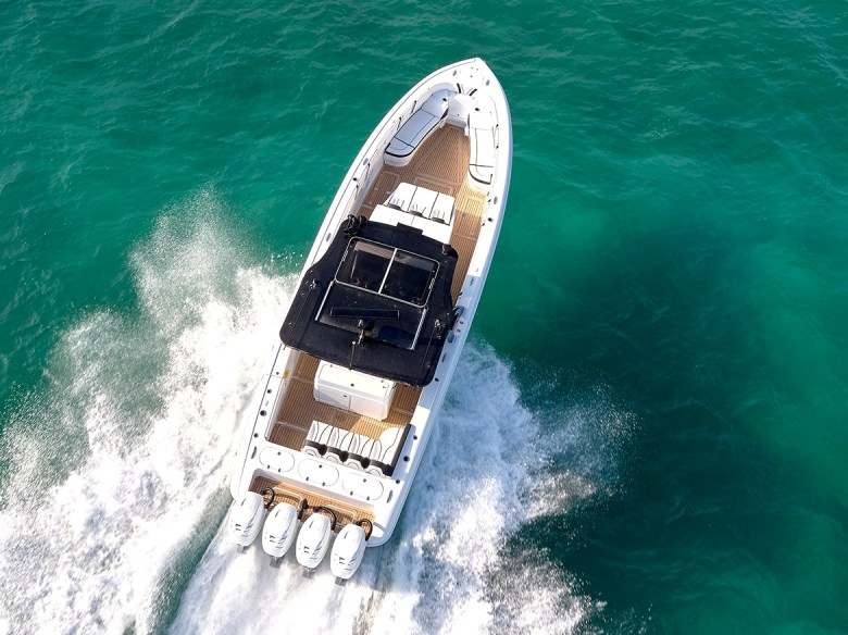 Midnight Express Yacht overview