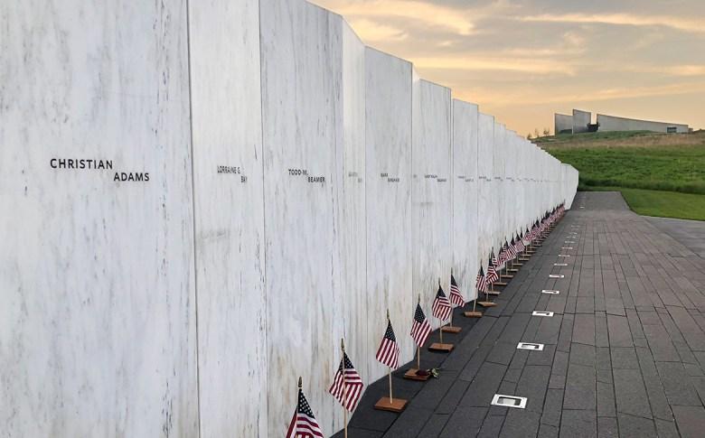 Flight 93 Memorial Passenger Wall