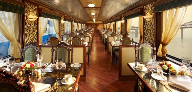 Maharajah Express Luxury train travel