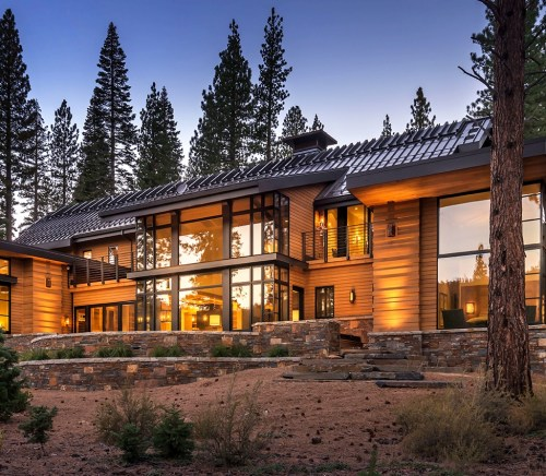 Martis Camp cabin in Lake Tahoe