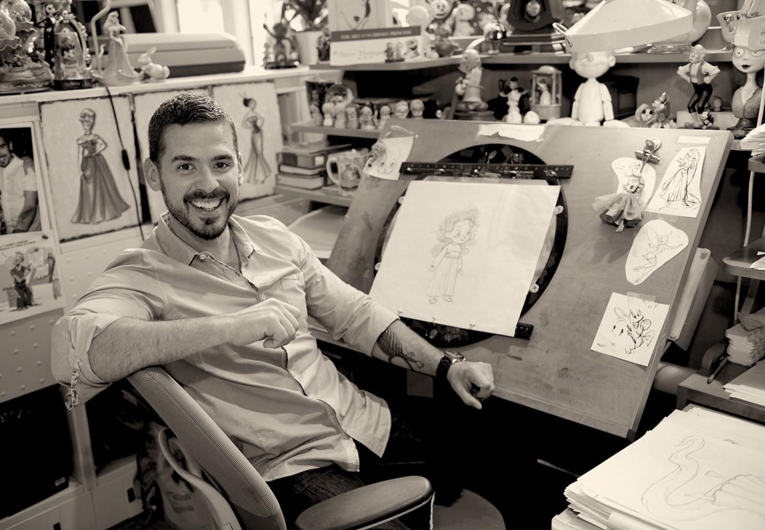 Disney Dreams Started Early for Designer Steve Thompson