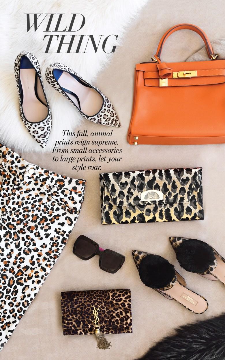 Animal print fashion styles