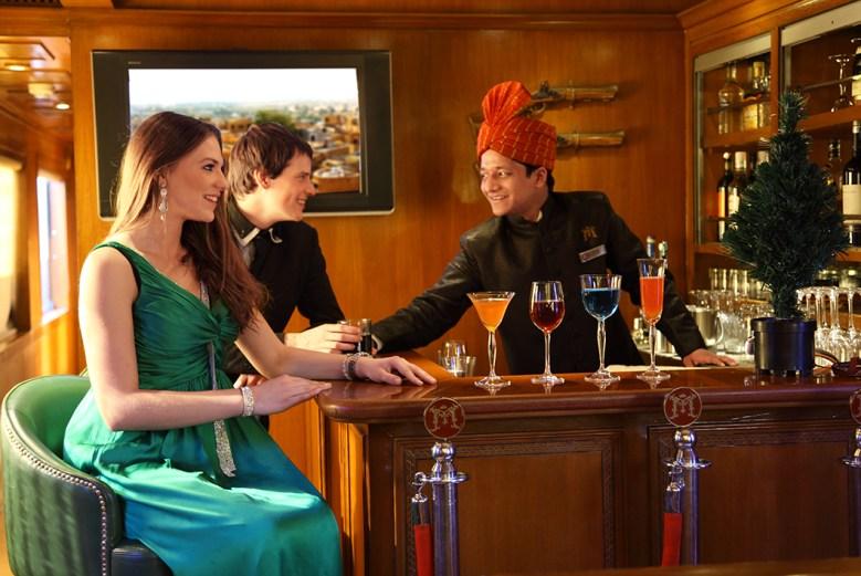 luxury train travel on the Maharajah_Express