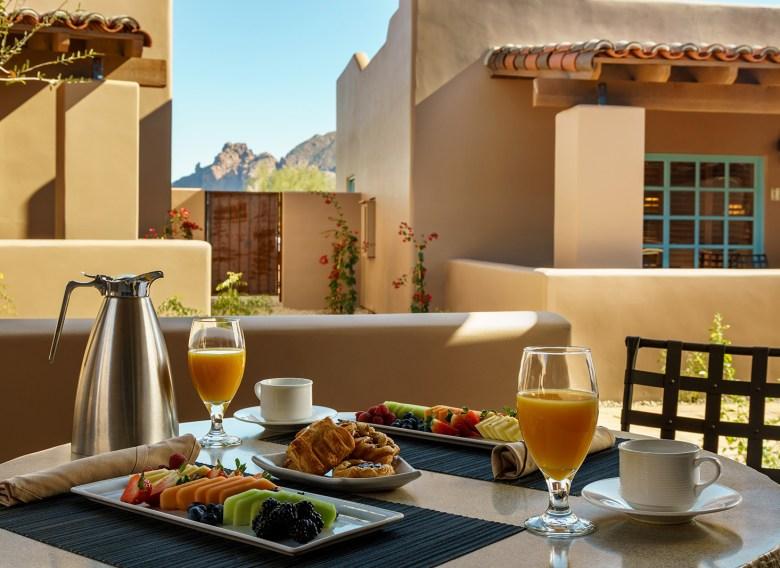 Hermosa Inn Breakfast