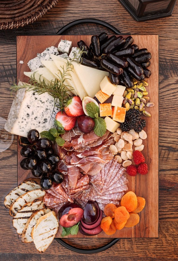 charcuterie board for Fall dinner party