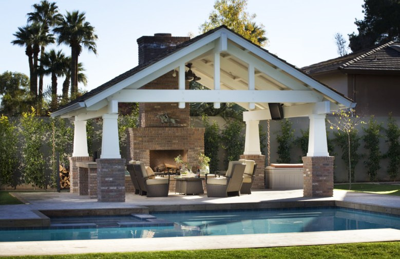 Modern Farmhouse Pool Phoenix