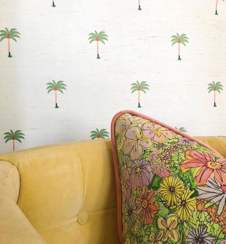 House of Harris Palm Tree Wall coverings