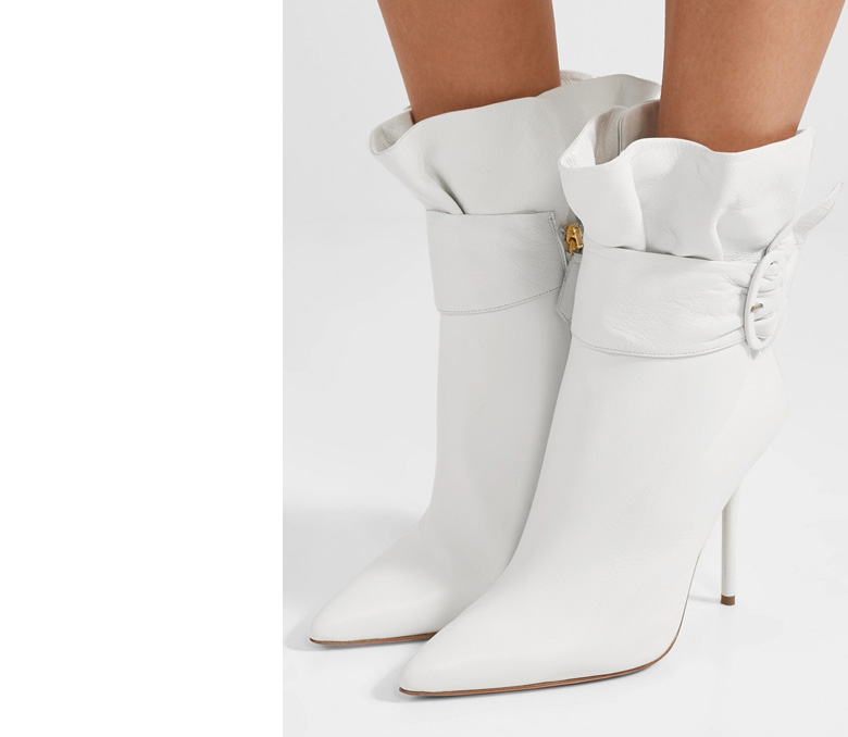 White Boots