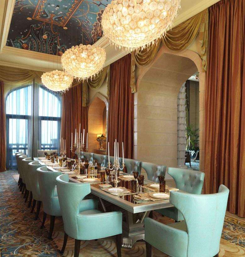 ROYAL BRIDGE SUITE AT ATLANTIS – The Palm, Dubai - Dining Room