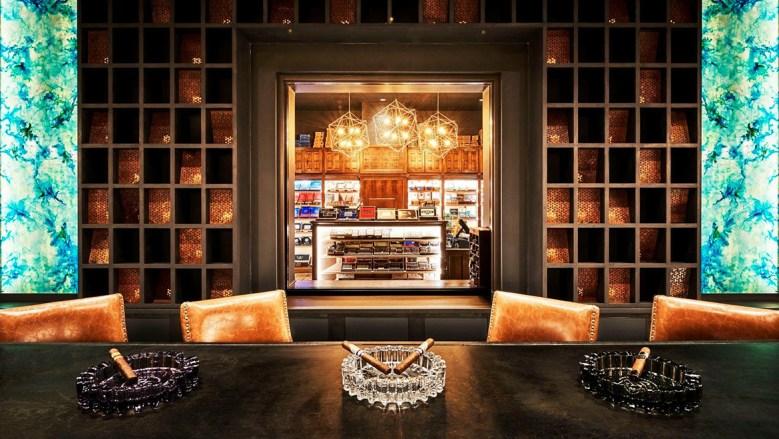 Burn Cigar Bar Pittsburgh PA - Interior