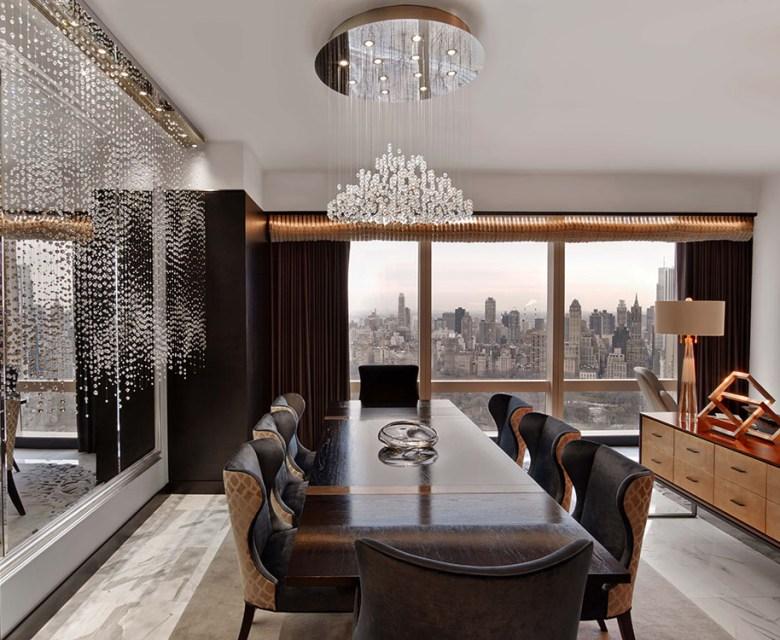 Suite 5000 – Mandarin Oriental, New York - Dining Room