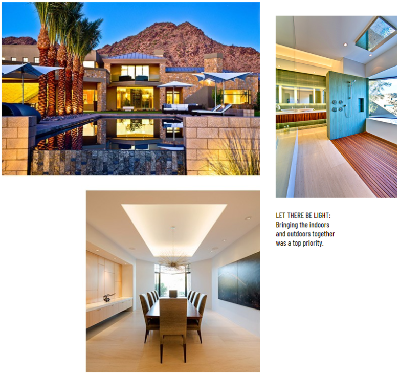 Ironwood Modern property, a 12,000-square-foot Paradise Valley Home