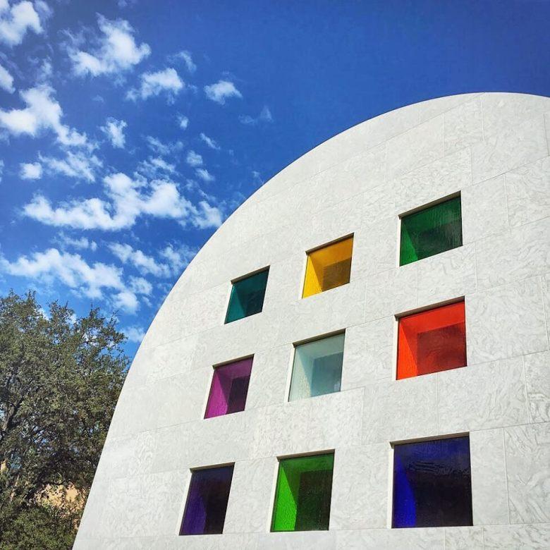 Blanton Museum of Art Austin TX - Entrance