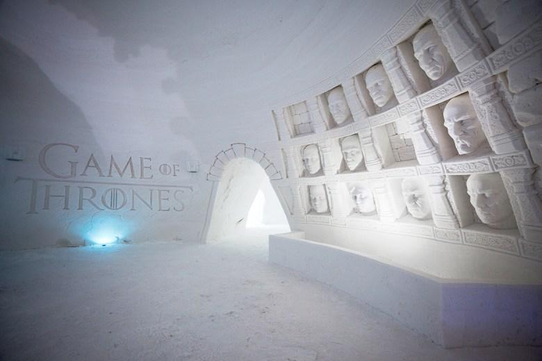 SNOWVILLAGE – Kittilä, Finland - Ice Hotel - Game Of Thrones