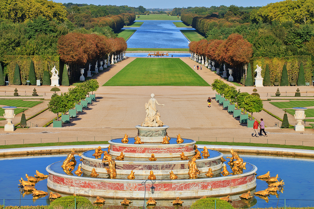 Best Sculpture Parks in the World -Versailles Palace gardens