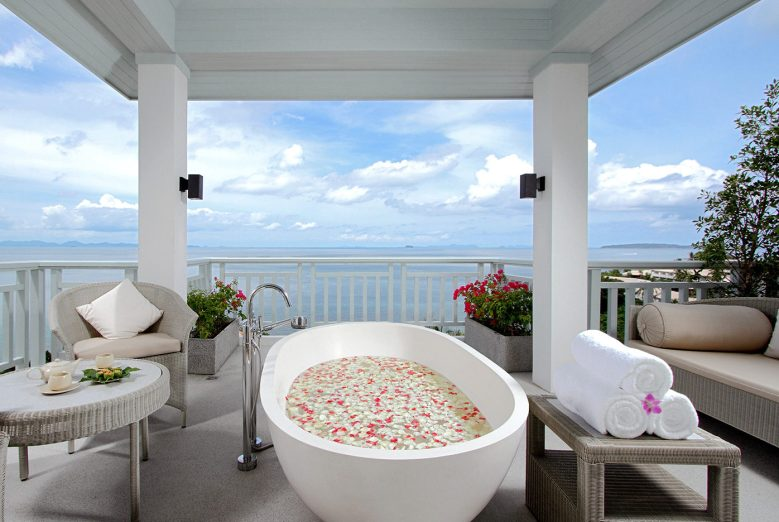 Amatara Spa Treatment Suite - AMATARA WELLNESS RESORT Phuket, Thailand - Overlooking the Bay