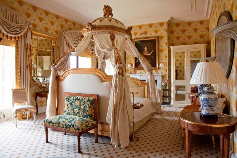 Ballyfin Demesne Hotel Ireland - Luxurious Room