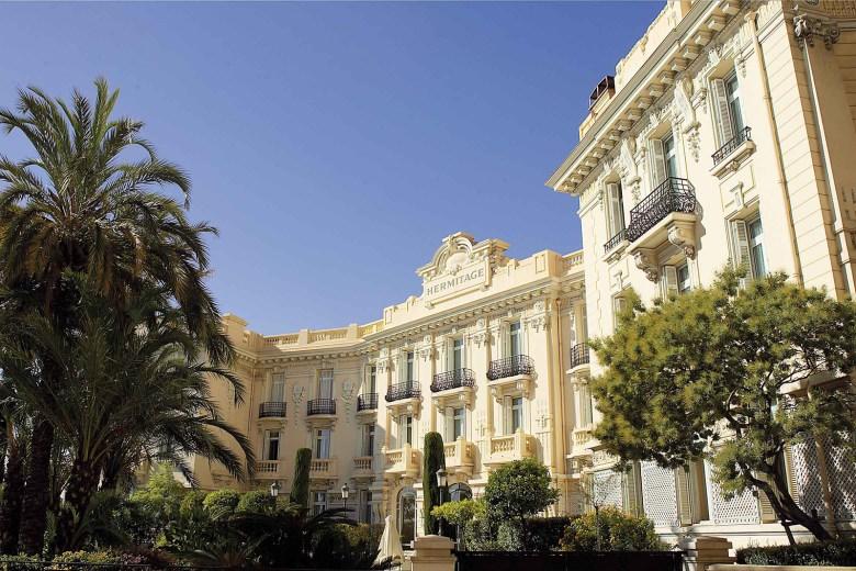Hotel Hermitage Monte Carlo, Monaco -Exterior
