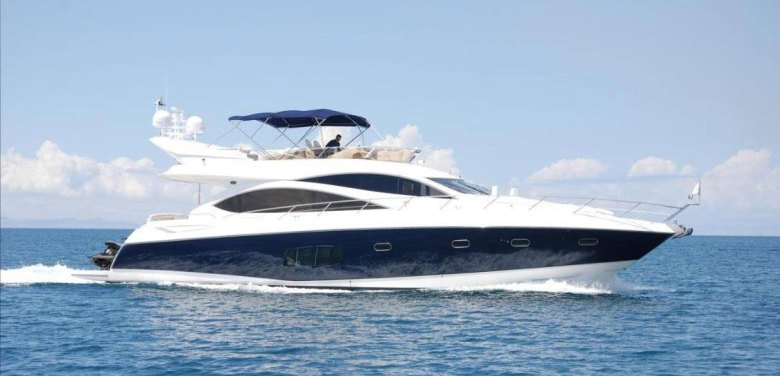 Luxury Speedboat at Land's End off Cabo San Lucas